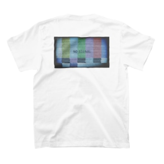 whimsyのNO SIGNAL T-shirtsの裏面