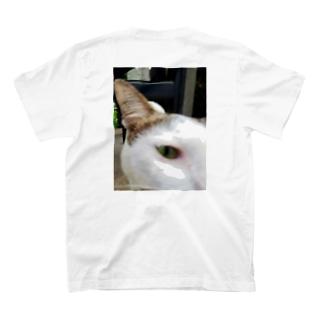 カンボジア シュッとした猫 T-shirts