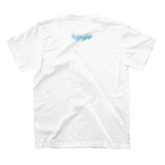 🆕お散歩🚶♀️背面ロゴ T-shirts