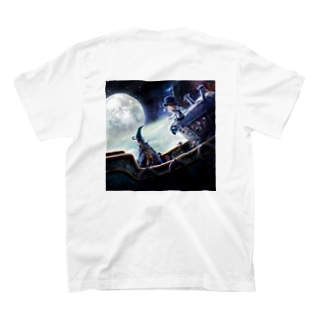 KKJショップのえんとつ町のプペルシリーズ3 T-shirtsの裏面