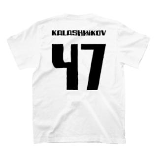 カラシニコフ 47 Kalashnikov AK-47 ソビエト 銃 T-shirts