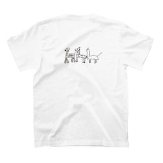 しょうこちゃんの本気/キリン/シマウマ/キョウリュウ T-shirts