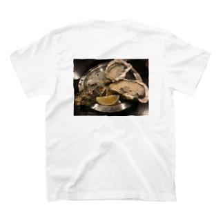 牡蠣食べたい T-shirts