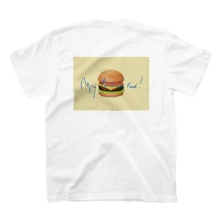 yoshinowatanabeの絵文字hamburger T-shirts