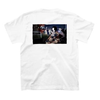 花火大会の夜のラブホは混む T-shirts
