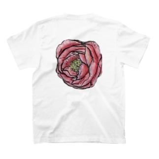 水彩椿 T-shirts