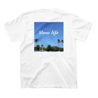 Knt_garageのSlow life T-shirts