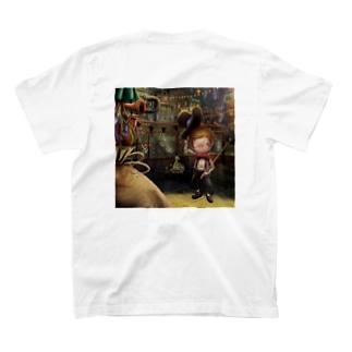 KKJショップのえんとつ町のプペルシリーズ11 T-shirtsの裏面
