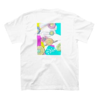 Me.6のFlower. T-shirts