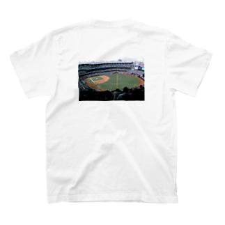 背面①YANKEES  STADIUM T-shirts