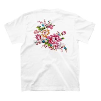 台湾花様シリーズ T-shirts