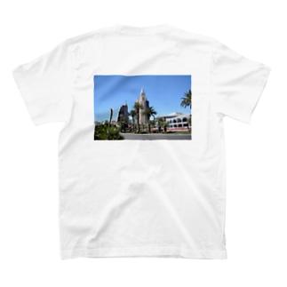 Dream in Desert(Back Printed) T-shirts