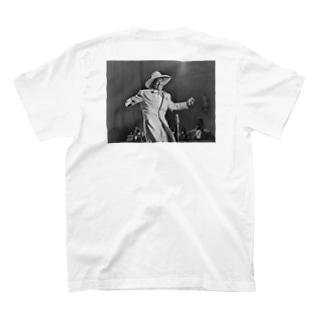 HI DE HO man T-shirts