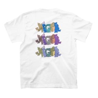 バックプリント グラフィティTシャツ T-shirts