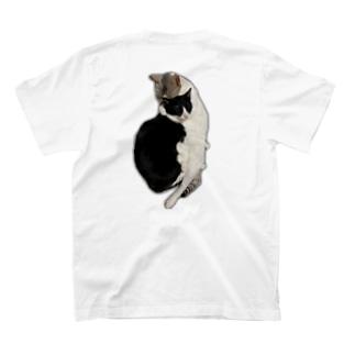 大好きすぎる猫 バックプリント T-shirts