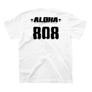 〔Back Print〕 Team ALOHA 808 T-shirts