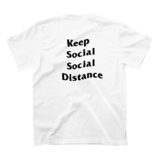 Keep Social Social Distance  T-shirts