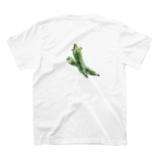 ベジタブルT(オクラ) T-shirts