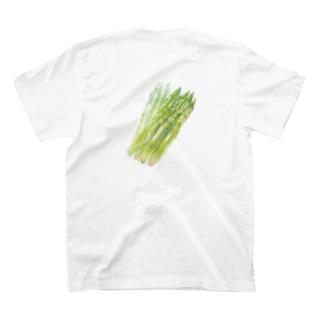 ベジタブルT(アスパラガス) T-shirts