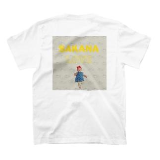 魚にズキュンなビッグべべー T-shirts