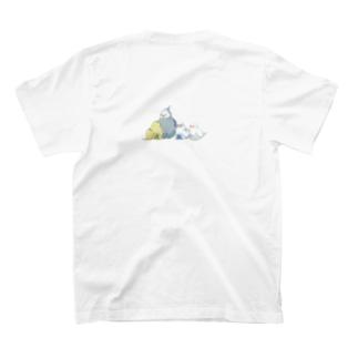 ドット絵インコたち T-shirts