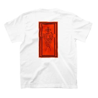 墓地札Tシャツ T-shirts