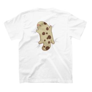 おしまいちゃん(くっつきVer.白地用) T-shirts