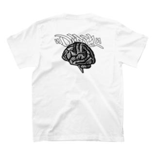 TRIVANEのDIRTY BRAIN T-shirtsの裏面