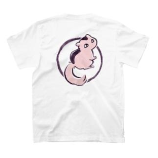 <バックプリント>みかえりヤマネ T-shirts
