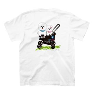 カート大好きレオ&みるく T-shirts