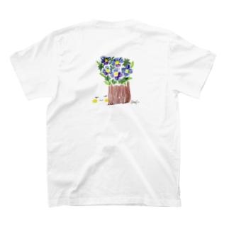 花と女子 あおいはな T-shirts