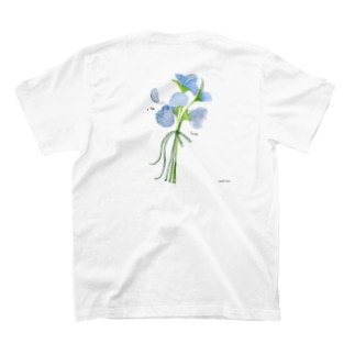 花と女子 スイトピーのはな T-shirts