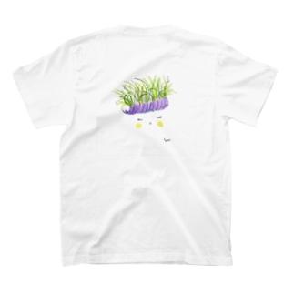 花と女子 くさ T-shirts