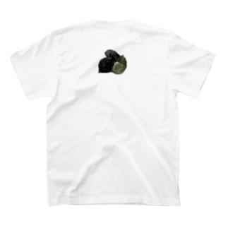 猫家の紋(カラー) T-shirts