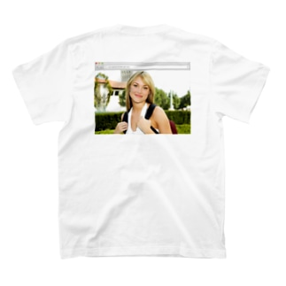 Parked Domain Girl (Back) T-shirts