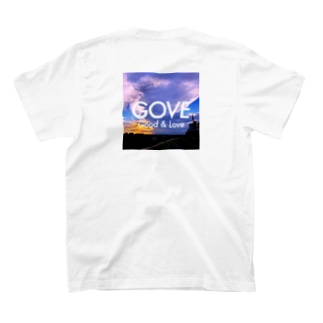 River Side Sunset square T-shirts