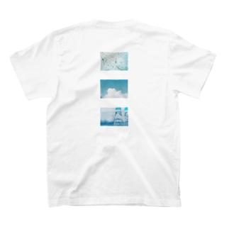 青い夏 T-shirts