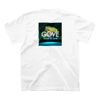 Blue Grotto square T-shirts