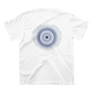 レースサークル(サンゴ) T-shirts