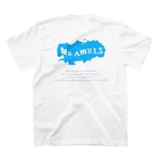 Ms Amaryllis のMs Amaryllis continent logo T-shirts