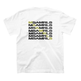 Ms Amaryllis のMs Amaryllis Width logo T-shirts
