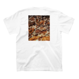 Brown flowers T-shirts