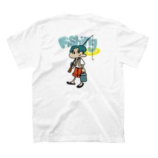 Fishing boy T-shirts