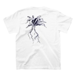 [島と草花] オオタニワタリ T-shirts