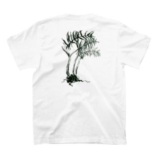 [島と草花] リュウビンタイ T-shirts
