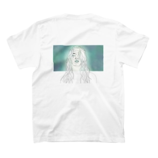 albino.[バックプリント] T-shirts