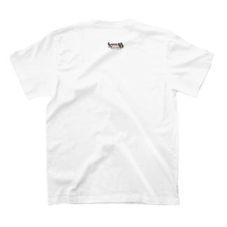 背中でのび〜ん T-shirts