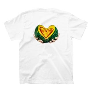 flwrsの生命力溢れるかぼちゃ T-shirts