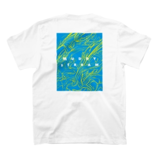 muddy streamT(Back Print) T-shirts