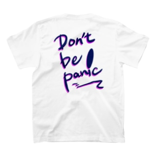 Echoes のDon't be panic  T-shirts
